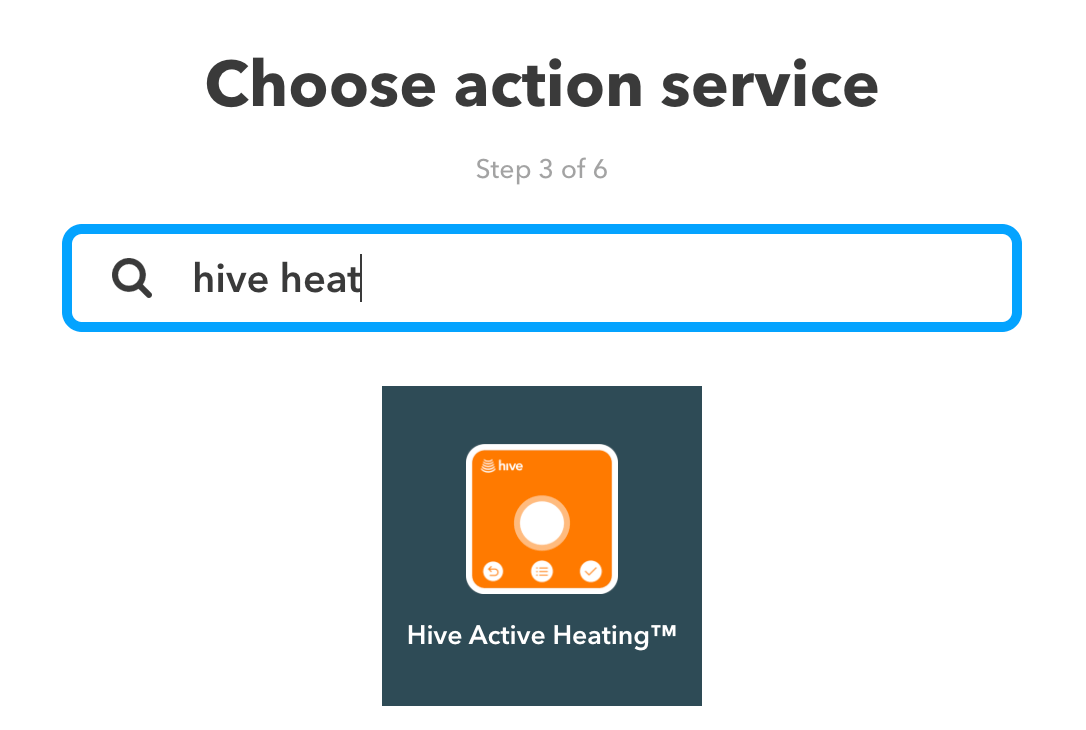 Find Hive Heating