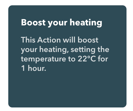 Select boost heating